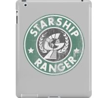 Starship Ranger: Washed starbucks style iPad Case/Skin