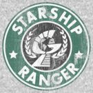 Starship Ranger: Washed starbucks style by Wipi Oly
