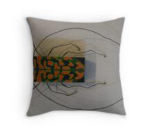South African Beetle - Sternotomis bohemani Throw Pillow