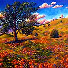 Oak in the Poppy Fields by sesillie