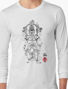 Warrior Buddha Long Sleeve T-Shirt