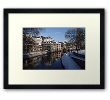 Strasbourg, tanners district Framed Print