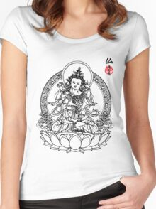 Buddha's Love Women's Fitted Scoop T-Shirt