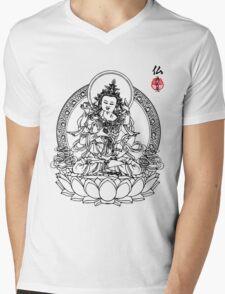 Buddha's Love Mens V-Neck T-Shirt