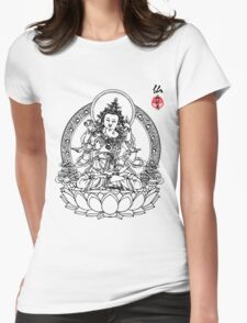 Buddha's Love Womens Fitted T-Shirt