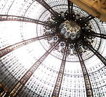 Galeries Lafayette, canopy by polanri