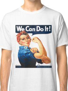 Rosie the Riveter Tshirt Classic T-Shirt