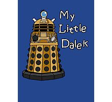 My Little Dalek Photographic Print