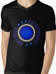 Exterminate and Rule! Mens V-Neck T-Shirt