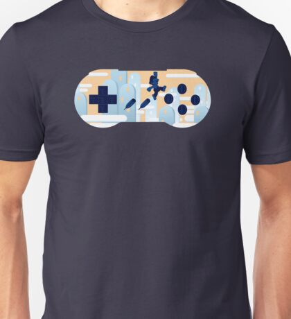 Mushroom Kingdom Controlled Unisex T-Shirt