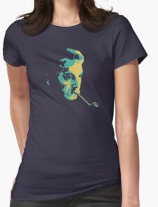 Georges Brassens Womens Fitted T-Shirt
