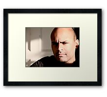 Hey MR Framed Print