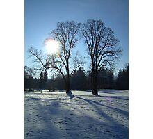 Bavarian Winter Wonderland  Photographic Print