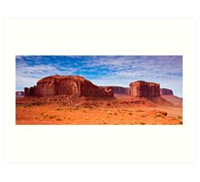 Monument Valley Rocks Art Print