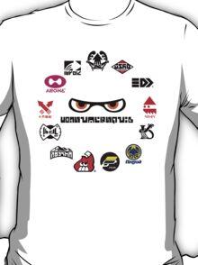 Splatoon - Consumersquid Product Array T-Shirt