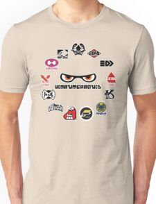 Splatoon - Consumersquid Product Array Unisex T-Shirt
