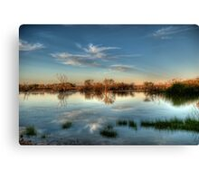 Muloorina  Water Hole Canvas Print