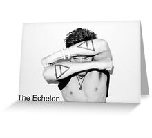 Jared Leto (30STM) - The Echelon Tattoo Greeting Card
