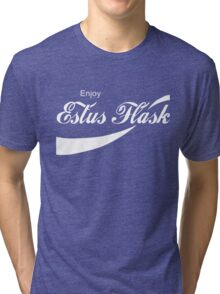 Coca Cola Estus Flask Tri-blend T-Shirt