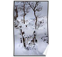 Walking in a winter wonderland Poster