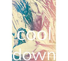 Cool Down Photographic Print