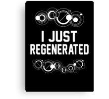 I just regenerated.  Canvas Print