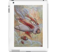 Fire in the engine compartment iPad Case/Skin