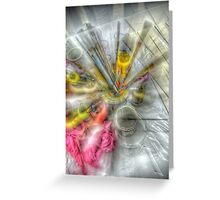 Color your life (HDR) Greeting Card