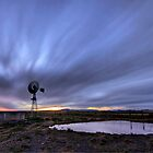 Windmill Twilight by Rob  Southey