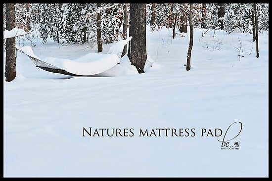 Natures mattress pad by Nancy