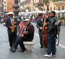 Band in the Piazza by j9mayer
