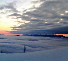 Sunrise over Romania by MarAndra
