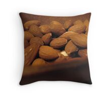 Roasted Almond Joy Throw Pillow