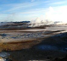 Hverir, volcanic area, Iceland. by pljvv