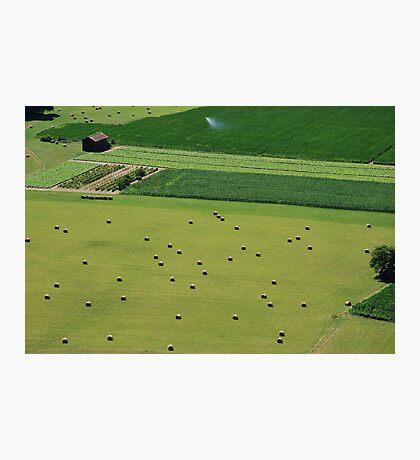 Open Fields Photographic Print