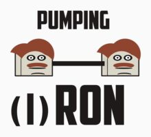 Pumping Ron by ConoArt