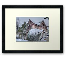 Beverley Snow Framed Print