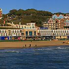 Boscombe Overstrand Panorama by RedHillDigital
