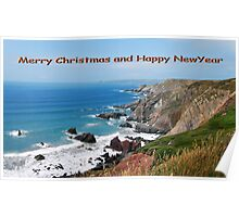 Pembrokeshire Coast  South Wales Poster