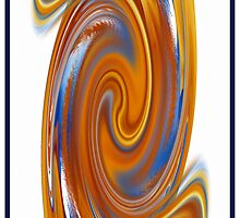 The Colorful Whorl by rd Erickson