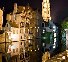 Bruges at Night by ChrisSinn
