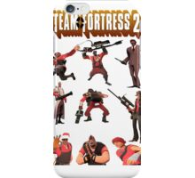 Team Fortress 2 - All Characters / Classes with TF2 Logo iPhone Case/Skin