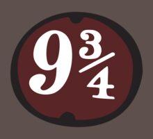 Harry Potter: Platform 9 3/4 One Piece - Short Sleeve