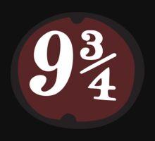 Harry Potter: Platform 9 3/4 One Piece - Long Sleeve
