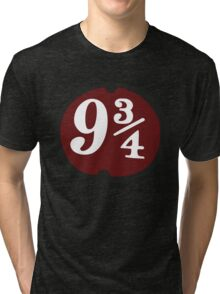 Harry Potter: Platform 9 3/4 Tri-blend T-Shirt