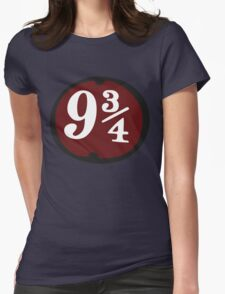 Harry Potter: Platform 9 3/4 Womens Fitted T-Shirt