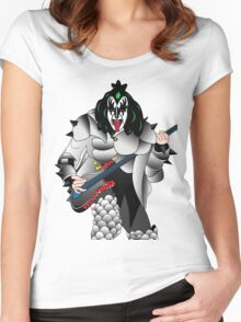 kiss Women's Fitted Scoop T-Shirt