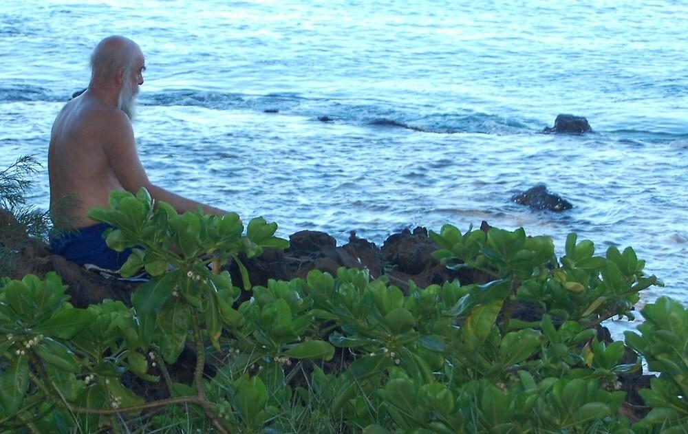 Maui V / Meditation by JackieSmith
