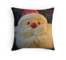 Santa Ho Ho Ho Throw Pillow