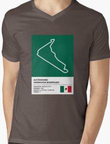 Autódromo Hermanos Rodríguez - v2 Mens V-Neck T-Shirt